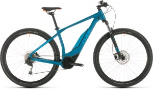 ΠΟΔΗΛΑΤΟ CUBE ACID HYBRID ONE BLUE N ORANGE 400 29 2020 DRIMALASBIKES