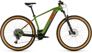 ΠΟΔΗΛΑΤΟ CUBE REACTION HYBRID EX 625 GREEN N ORANGE 29 2020 DRIMALASBIKES